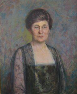 Ella Rodney King Masters portrait 1923 by Howard Logan Hildebrandt
